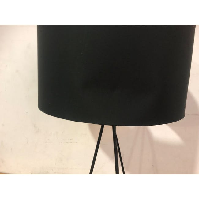 (As-is) Zoey Table Lamp - Black - 2 - 3