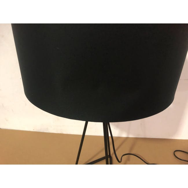 (As-is) Zoey Table Lamp - Black - 2 - 4