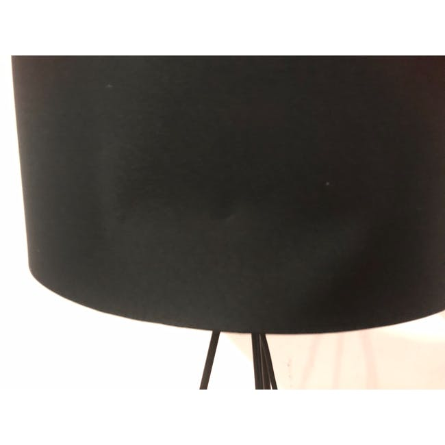 (As-is) Zoey Table Lamp - Black - 2 - 5
