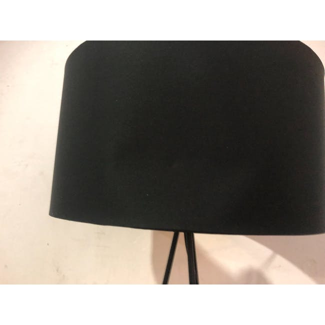 (As-is) Zoey Table Lamp - Black - 2 - 6
