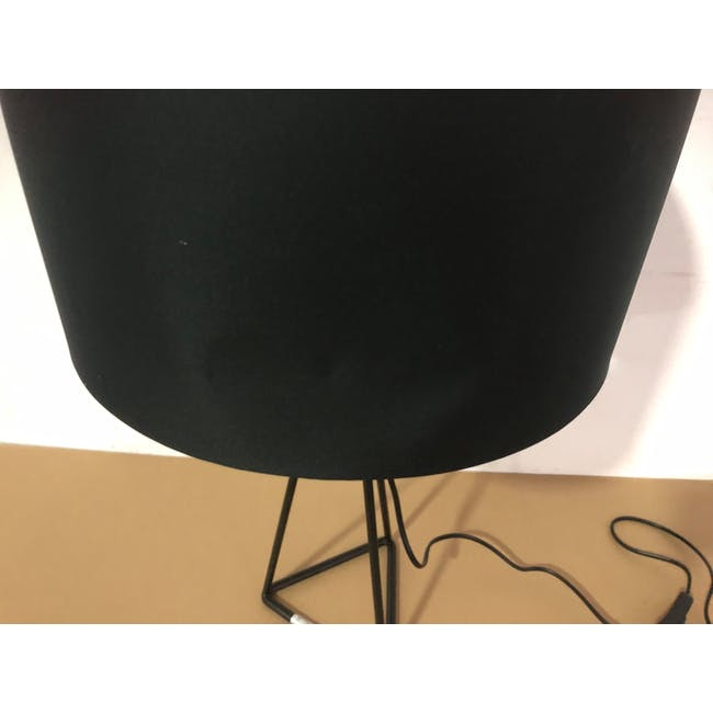 (As-is) Zoey Table Lamp - Black - 2 - 7