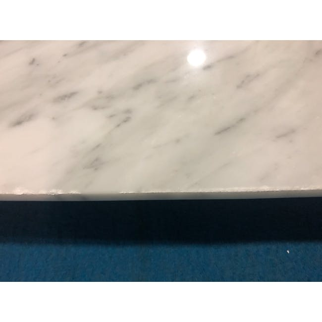 (As-is) Carson Marble Dining Table 2m - 10