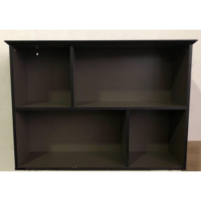(As-is) Howard Low Bookshelf - Dark Grey - 1 - 3