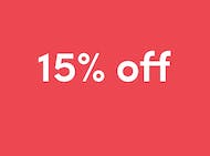 Shop Clearance (15% off)