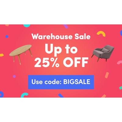Warehouse Sale (25% Off)