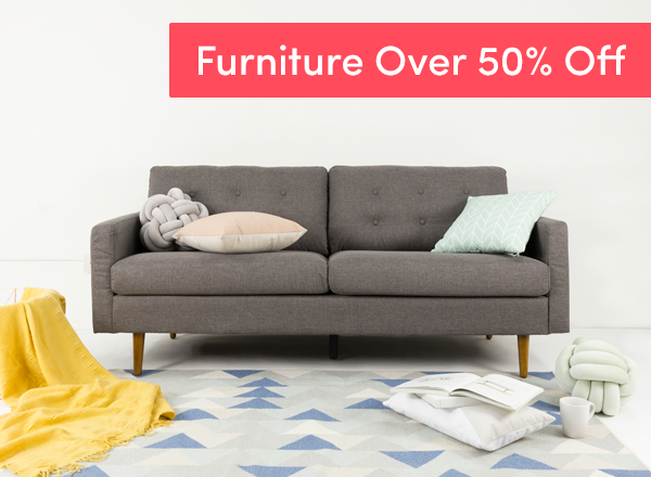 Furniture at Over 50% Off