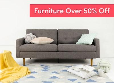 Online furniture sale in singapore hipvan for Furniture 50 off