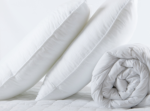 Pillows, Bolsters & Duvets