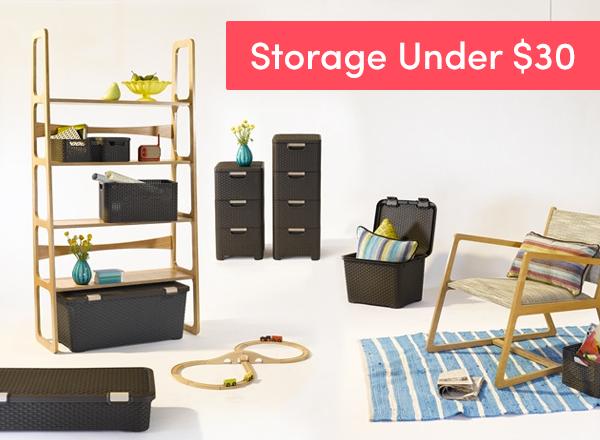 Storage Solutions Under $30
